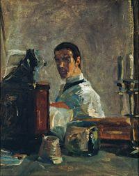Portrait de Lautrec devant une glace