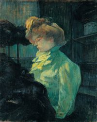La modiste (Melle Louise Blouet d'Enguin)